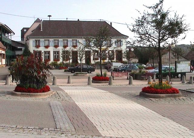 Mairie de Waldighoffen dans les années 1989-1995