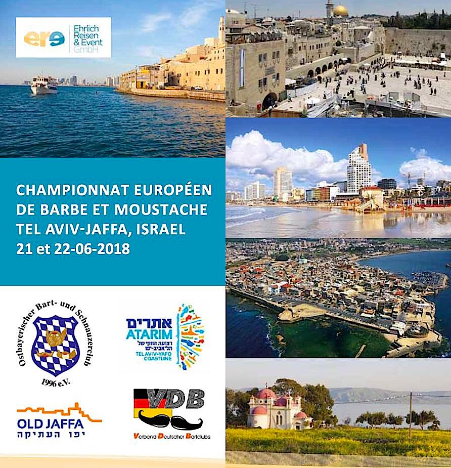 Championnat Européen de Barbes et Moustaches-Tel Aviv Jaffa