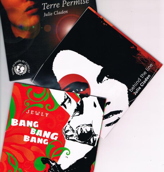 Les premiers CD de Jewly