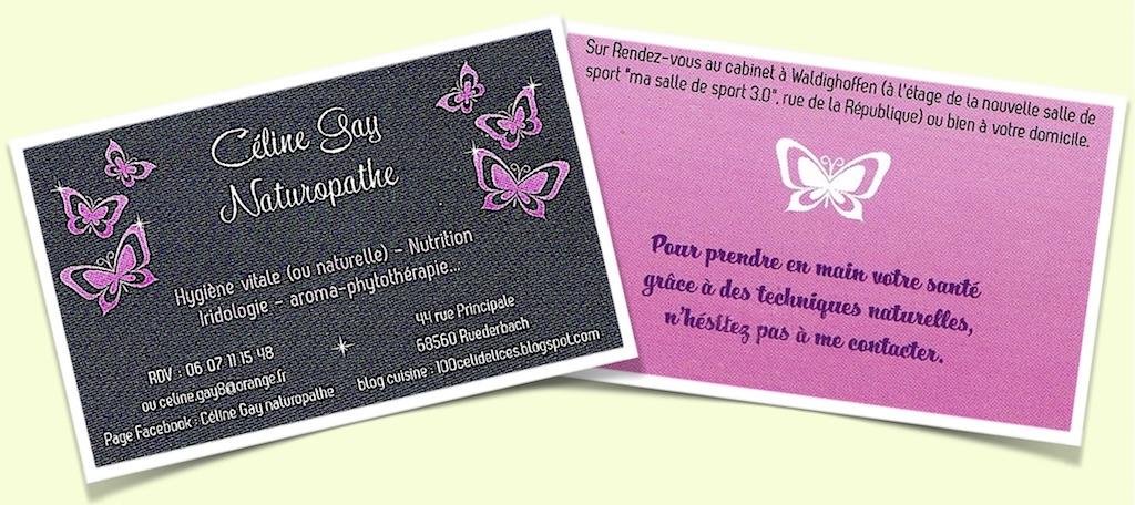 Carte De Visite Cline Gay Naturopathe