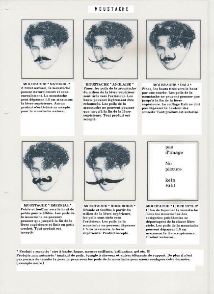 """Championnat """" Barbe et Moustache"""""""