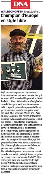 2018/06/24 DNA Hervé Diebolt Champion d'Europe