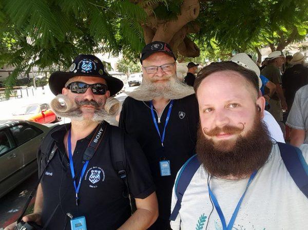 Hervé Diebolt et les autres représentants français à Tel Aviv-Jaffa
