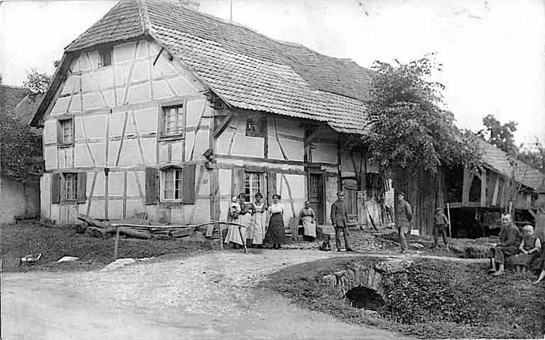 Waldighoffen au XIXème siècle