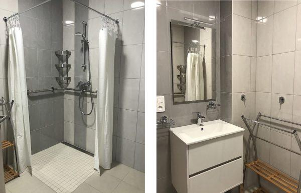Salle de bain résidence séniors