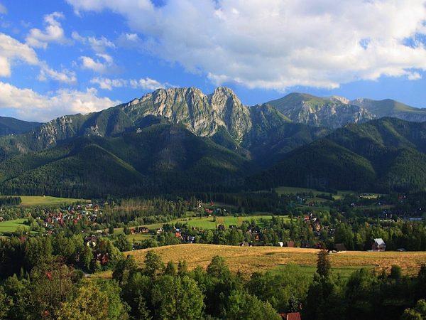 paysage des Carpates